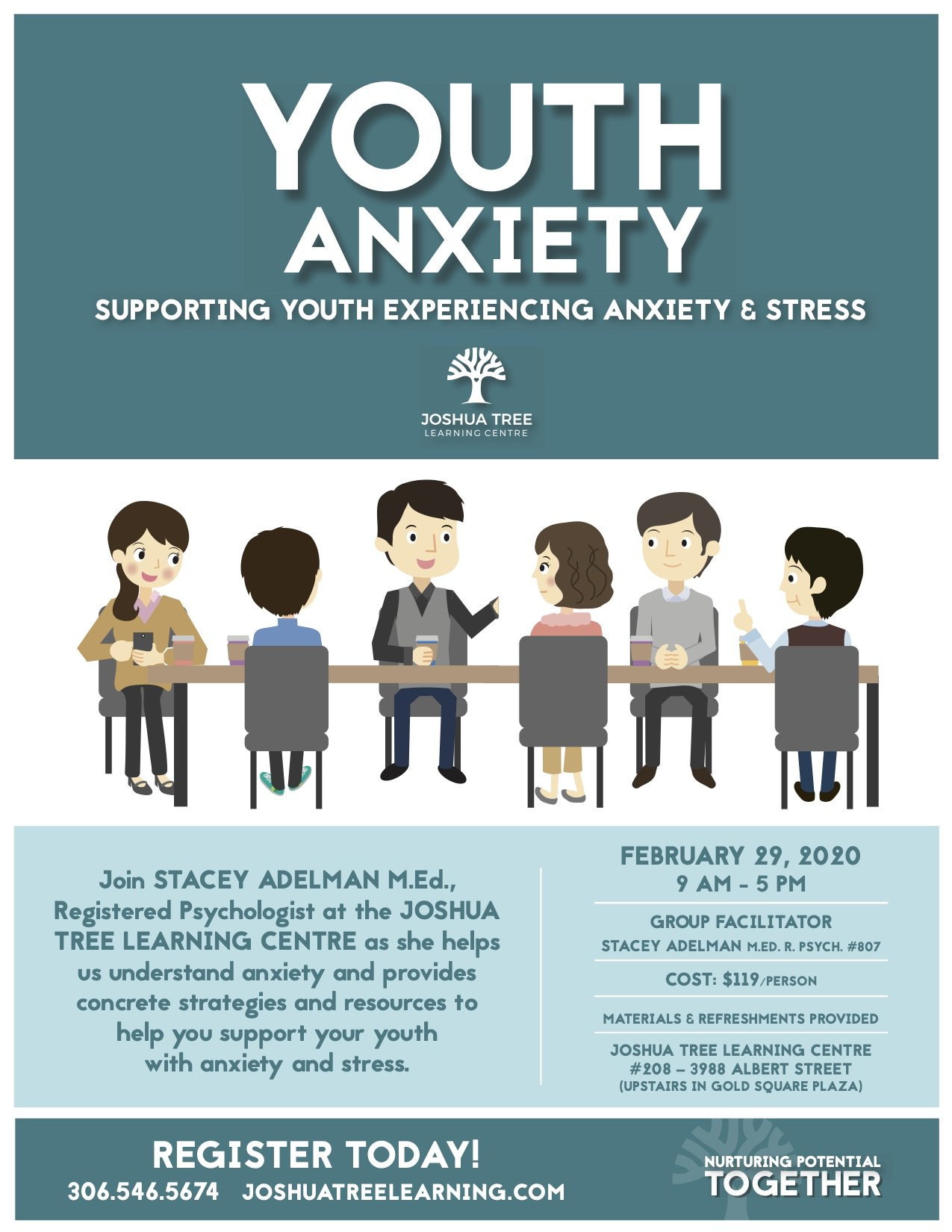 Youth Anxiety - Regina Registered Psychologist | Stacey ...