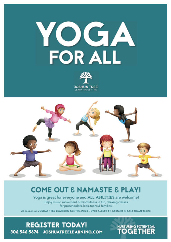 Yoga For All - Joshua Tree Learning Centre