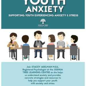 Youth Anxiety - Joshua Tree Learning Centre