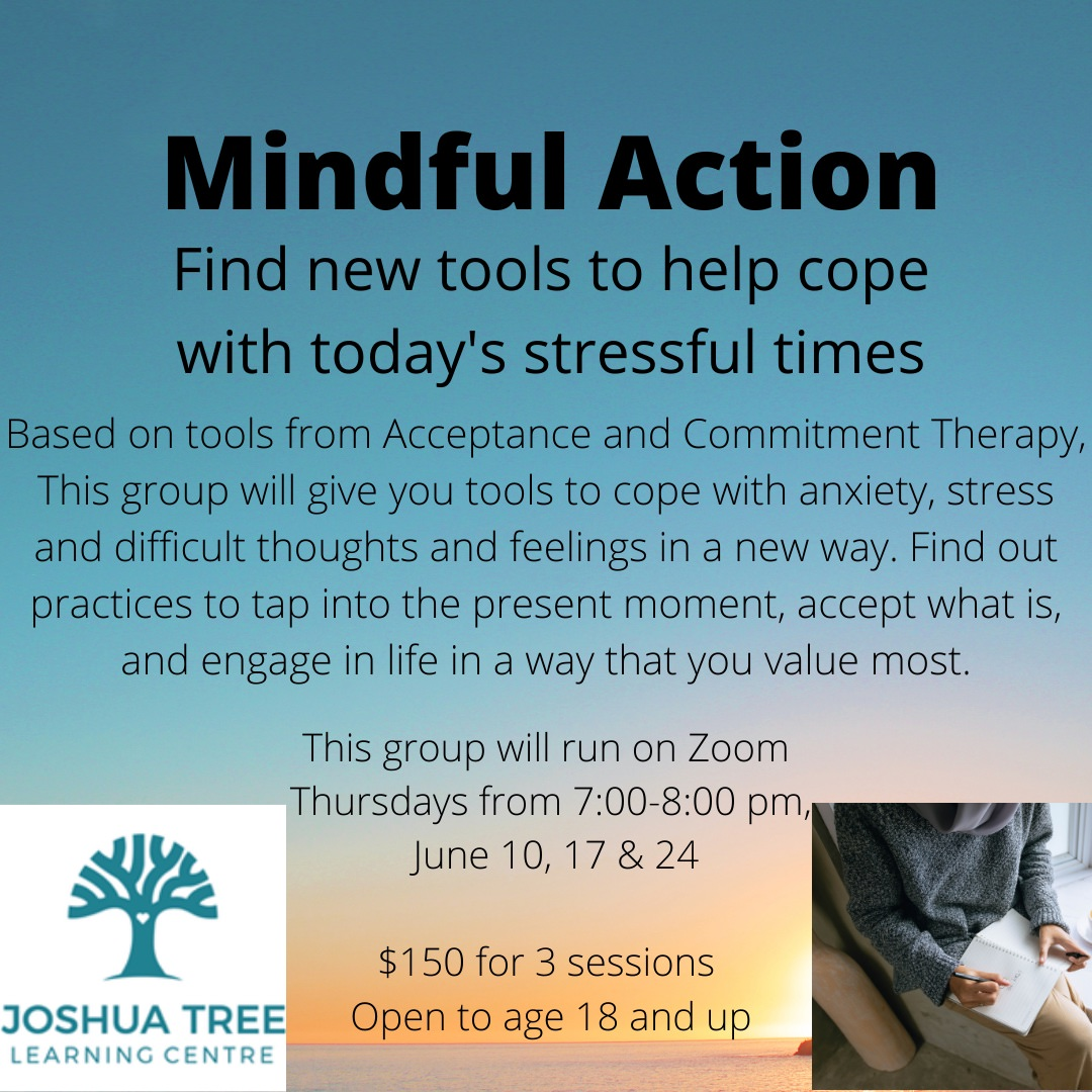 Mindful Action - June 10, 17, 24
