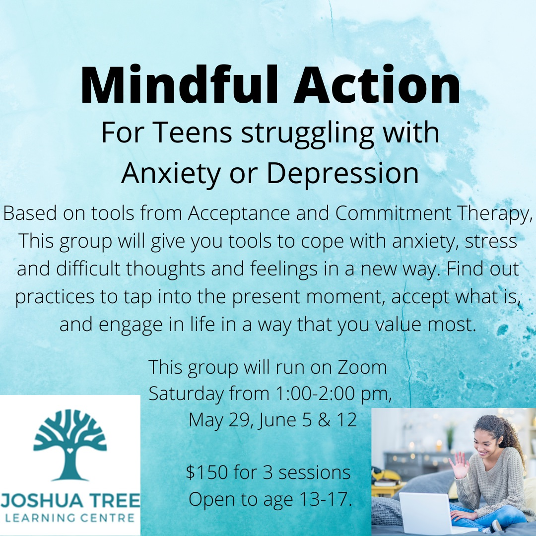 Mindful Action - For Teens